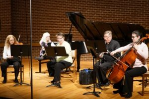 The Free Spirits Ensemble of the Raleigh Symphony @ Ruggero Piano