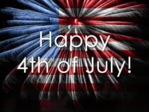 Closed - Happy Fourth of July @ Ruggero Piano